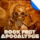 Rock Fest Apocalypse Poster Flyer Template - GraphicRiver Item for Sale