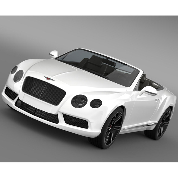 Bentley Continental GTC V8 2013 - 3DOcean Item for Sale