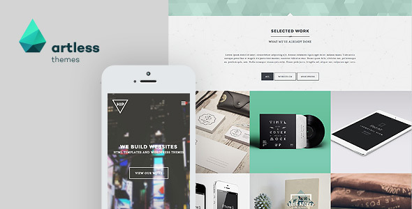 Hip – Creative Parallax One Page HTML Template