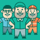 Mr Worker Mascot - GraphicRiver Item for Sale