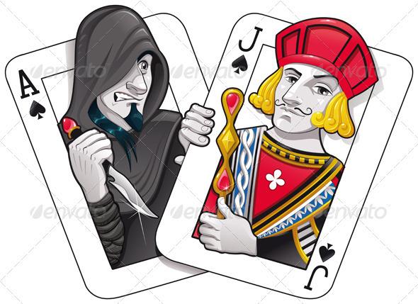 Black Jack - Characters Vectors