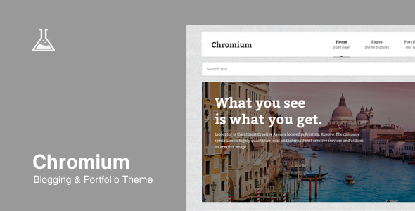 Chromium – Responsive Business and Blog Theme
