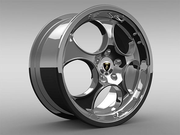 Rim for Murcielago - 3DOcean Item for Sale