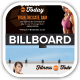 Fitness First Today Health Promotional Billboard - GraphicRiver Item for Sale