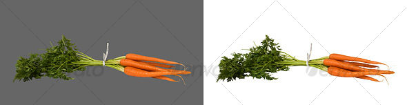 Carrots - Food & Drink Isolated Objects