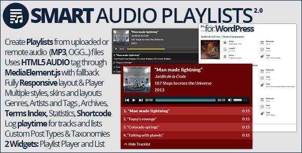 Smart Audio Playlists