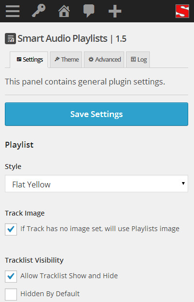 Smart Audio Playlists - Plugin for WordPress playlists management