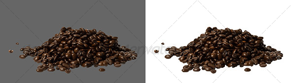 Coffee Beans - Food & Drink Isolated Objects
