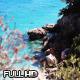 Nudist Sardinian Beach Aerial View - VideoHive Item for Sale