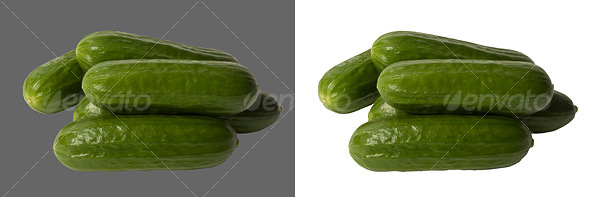 Cucumbers - Food & Drink Isolated Objects