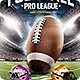 American Football League Flyer Template - GraphicRiver Item for Sale