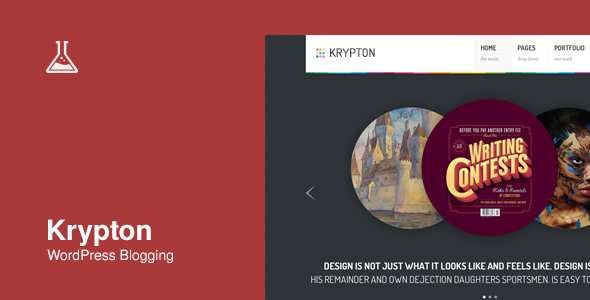 Krypton: Responsive Business and Portfolio Theme
