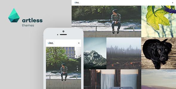Vinz - Portfolio & Photography HTML Template - Portfolio Creative