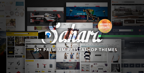 SAHARA - Ultimate Responsive Prestashop Theme - Fashion PrestaShop