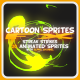 Cartoon Sprites FX (Energy Explosion) - GraphicRiver Item for Sale