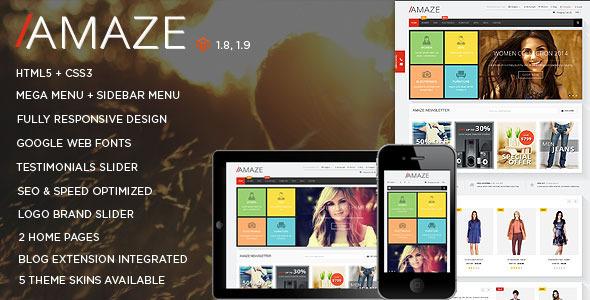 Amaze – Responsive Multipurpose Magento theme