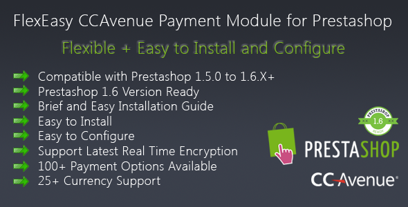 FlexEasy CCAvenue Payment Module for Prestashop