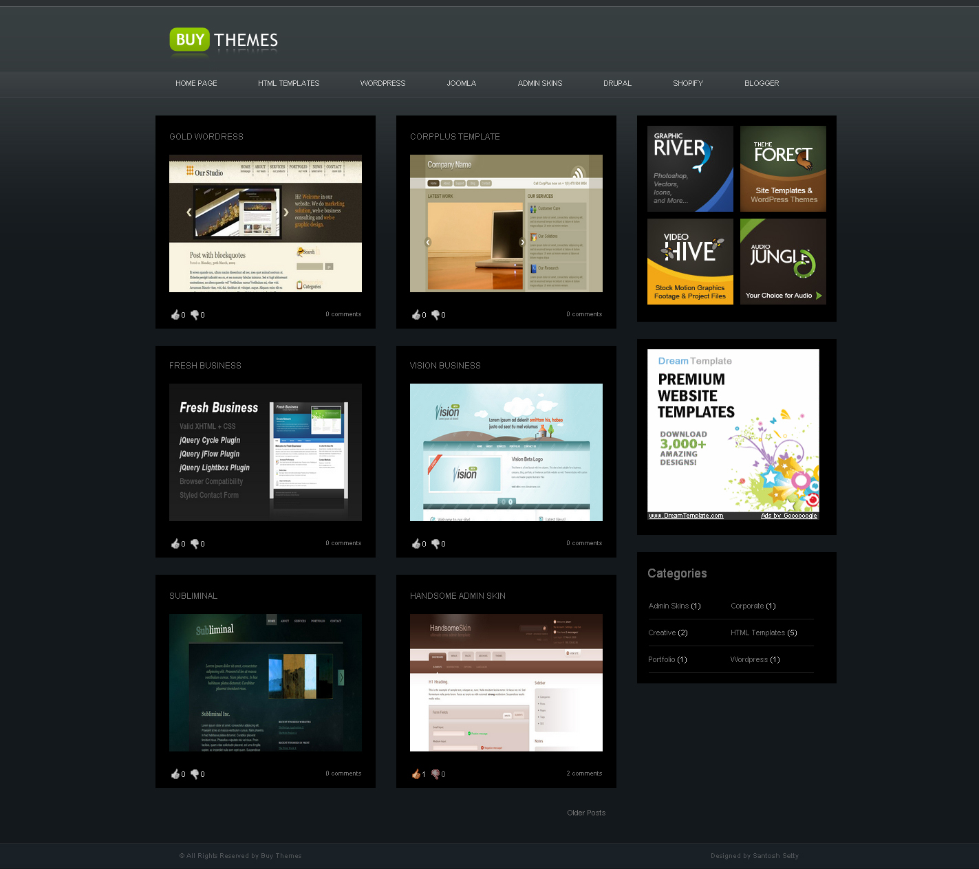 Free Download Buy Themes - Blogger Gallery Template Nulled Latest Version