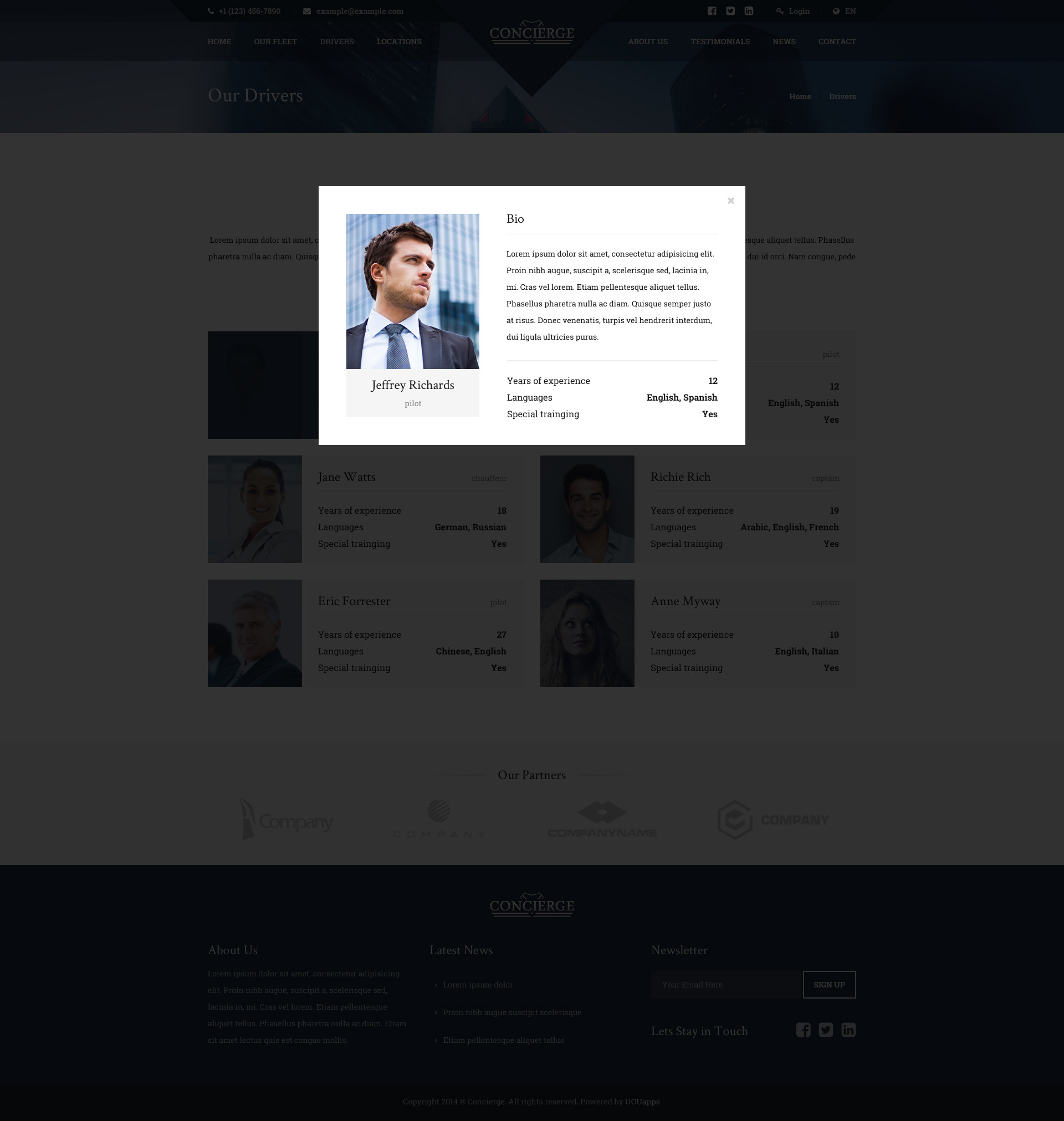 Concierge - Luxury Lifestyle Services HTML by uouapps   ThemeForest