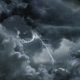 Dark Clouds And Lightning - VideoHive Item for Sale