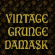 Vintage Grunge Damask Backgrounds - GraphicRiver Item for Sale
