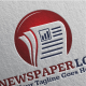 Newspaper Logo - GraphicRiver Item for Sale
