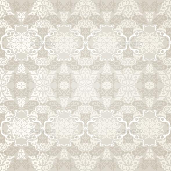 Seamless Pattern in Traditional Islamic Motif. - Patterns Decorative