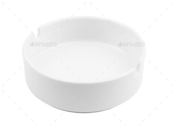 empty ashtray - Stock Photo - Images