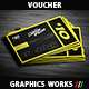 Creative Gift Voucher 01 - GraphicRiver Item for Sale