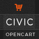 Civic - Watch Store Responsive OpenCart Theme Nulled