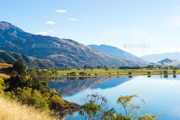 Picturesque landscape - Stock Photo - Images