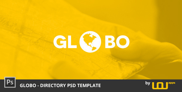Globo - Directory PSD Template - Miscellaneous PSD Templates