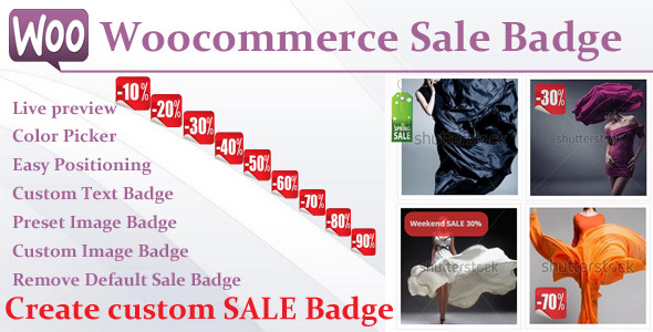 Woocommerce Sale Badge - CodeCanyon Item for Sale