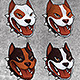 24 Pitbull Heads - GraphicRiver Item for Sale