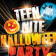 Teen Night Halloween Party Flyer Template - GraphicRiver Item for Sale