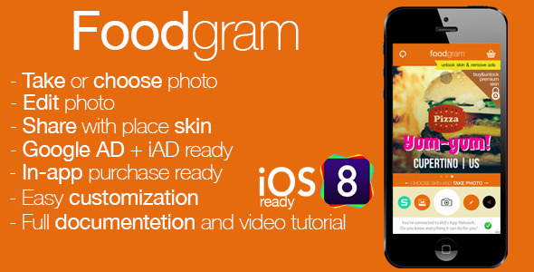 Foodgram - CodeCanyon Item for Sale