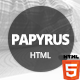 Papyrus - Responsive Resume Template - ThemeForest Item for Sale
