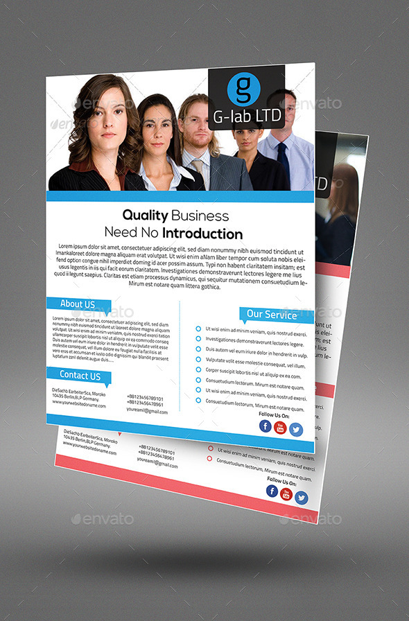 Corporate Multipurpose Business Flyer  - Corporate Flyers