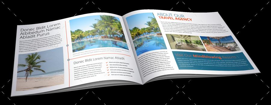 Travel Agency Brochure Catalog Template by JanySultana | GraphicRiver