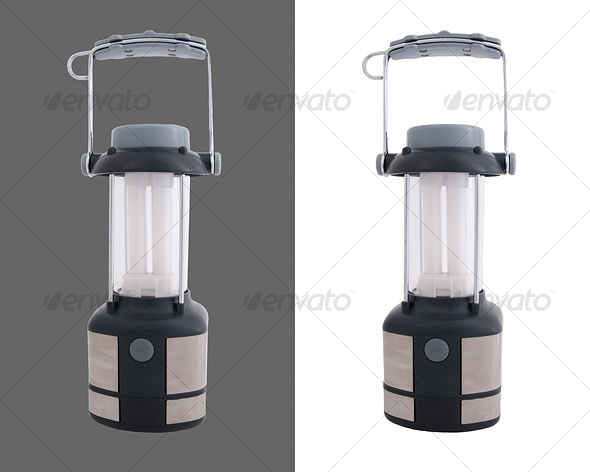 Fluorescent Lantern - Activities & Leisure Isolated Objects