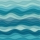Abstract Blue Wavy Background - GraphicRiver Item for Sale