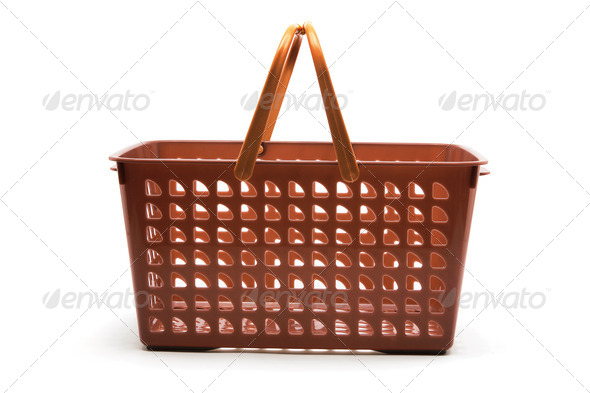 Plastic Basket - Stock Photo - Images