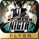 Poker Night Flyer Design - GraphicRiver Item for Sale