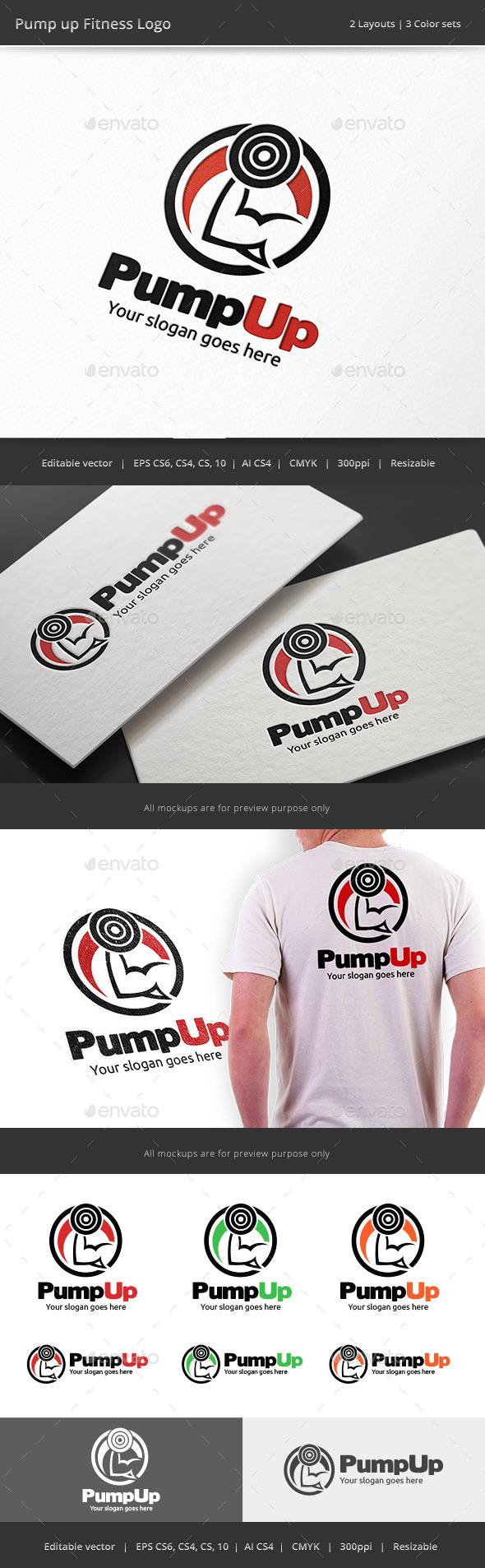 Pump Up Fitness Logo