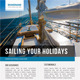 Sailing Yacht Travel Flyer 02 - GraphicRiver Item for Sale