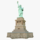 Statute of Liberty - 3DOcean Item for Sale