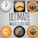 Ultimate Analog Clock Pack - VideoHive Item for Sale