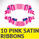10 Pink Ribbons - GraphicRiver Item for Sale