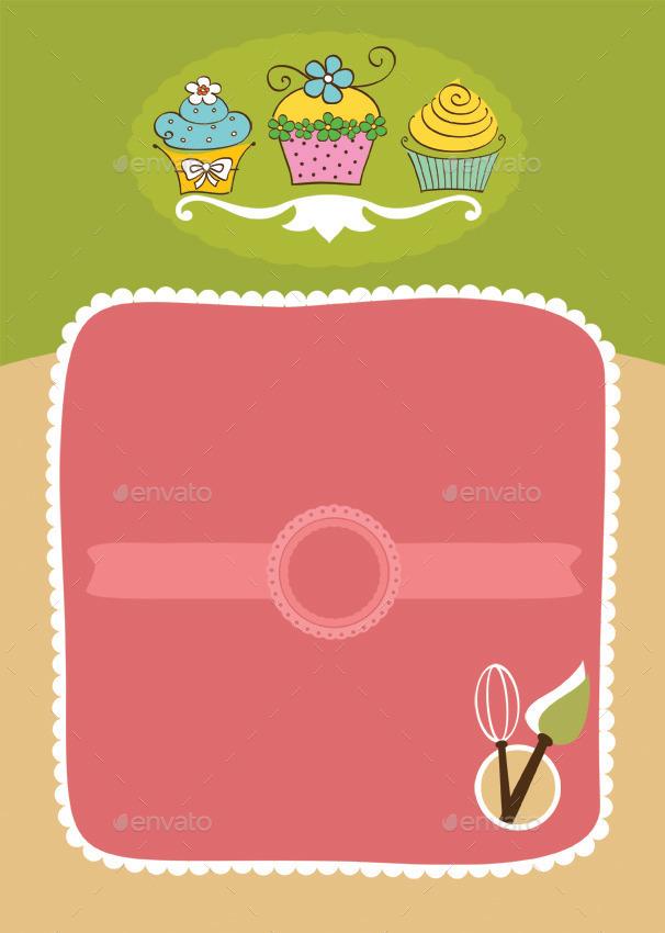 cupcake flyer templates free