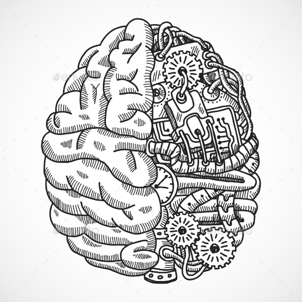 Brain as Processing Machine - Web Technology